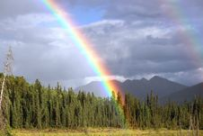 Free Rainbow, Sky, Wilderness, Meteorological Phenomenon Royalty Free Stock Photography - 97093127