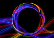 Free Circle, Light, Neon, Line Royalty Free Stock Photos - 97096568