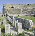 Free The Ancient Amphitheater At Miletus Stock Images - 9716604