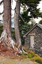 Free Stone Cabin Stock Images - 9717914