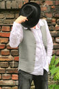 Free Fashion Man With Hat Stock Images - 9719884