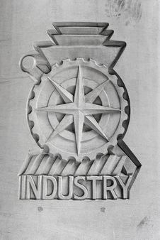 Free Industry Emblem Stock Photography - 9710492