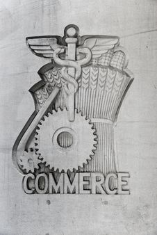 Free Commerce Emblem Stock Photography - 9710512