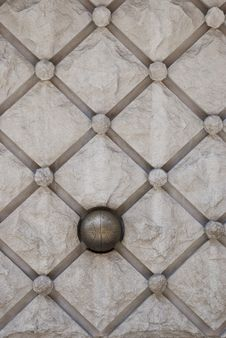 Free Details Of Stone Wall Decoration Royalty Free Stock Images - 9710529