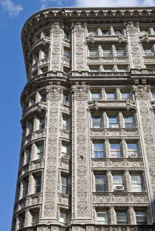 Free Old Classic New York, Manhattan Building Royalty Free Stock Image - 9710686