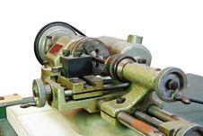 Free Small Lathe Closeup Stock Image - 9711421