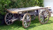 Free Old Wooden Wagon Royalty Free Stock Photos - 9711748
