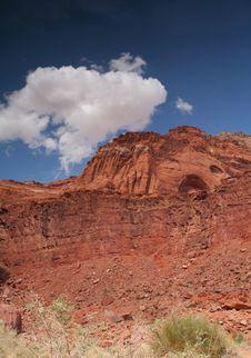 Free Colorful Desert Landscape Royalty Free Stock Photo - 9712225