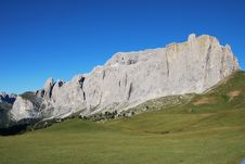 Free Dolomiti Mountains In Italy. Panorama Royalty Free Stock Images - 9712599