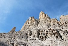Free Dolomiti Mountains In Italy. Peak Royalty Free Stock Image - 9712666