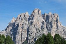 Free Dolomiti Mountains In Italy. Peak Stock Photo - 9712700