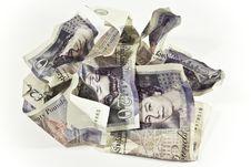 Free Money Isolated On White Stock Photo - 9712830