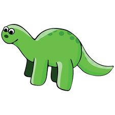 Free Dinosaur Illustration Royalty Free Stock Photography - 9712947