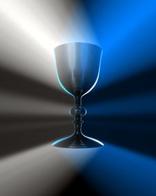 Free Light And  Chalice Royalty Free Stock Image - 9713006