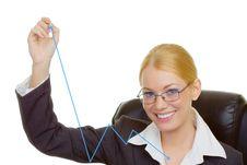 Free Portrait Of Businesswoman Stock Photos - 9713123
