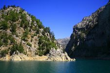 Free Mountain Lake In The Summer In A Fair Weather Royalty Free Stock Images - 9713259