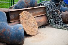 Free Rusty Pipes Stock Photos - 9713763