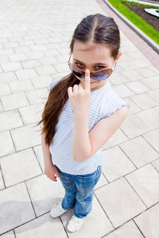 Free Sun Glasses Stock Photo - 9713770