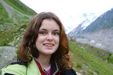 Free Hiker Girl Royalty Free Stock Photos - 9714648