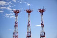 Free Antennas Stock Image - 9714681