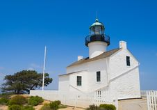 Point Loma Lighthouse Royalty Free Stock Image