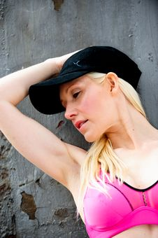 Free Fit And Healthy Blond Working Out Stock Photo - 9715090