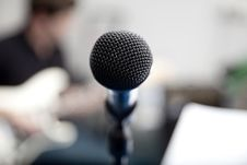 Free Microphone Stock Images - 9715794
