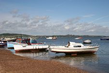Free Boats On River Exe Royalty Free Stock Photos - 9716658