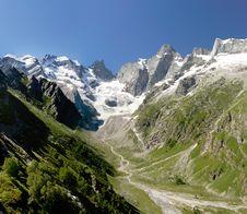 Free The Caucasian Glacier Stock Photo - 9717100