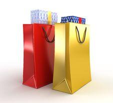 Free Shopping Bag Royalty Free Stock Image - 9717186