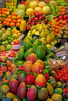 Free La Boqueria Fruits. Stock Images - 9717244