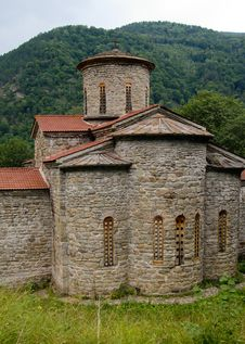 Free Old Church In Mountains Stock Image - 9717291