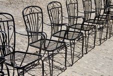 Free Old Chairs Royalty Free Stock Images - 9717829