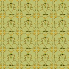 Free Traditional Floral Wallpaper Stock Image - 9717971