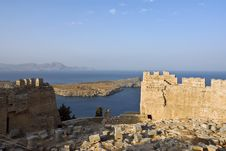 Free Ruins Of Fortifications. Royalty Free Stock Images - 9718839