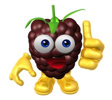 Free Mister Fruit Character Royalty Free Stock Image - 9719156