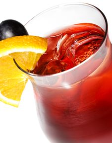 Free Red Cocktail Royalty Free Stock Photos - 9719218