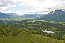 Free View To The Valley Royalty Free Stock Image - 9719466