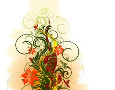 Free Floral Background Royalty Free Stock Photos - 9719658