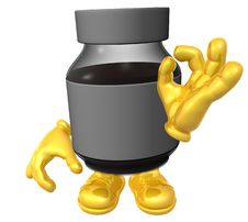 Mister Medicine Character Stock Images