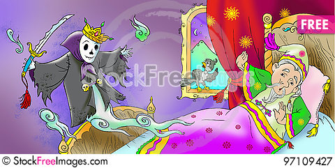 Free Emperor And Death Royalty Free Stock Photography - 97109427