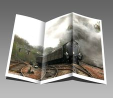 Free Booklet, Pamphlet, Train, Engine Royalty Free Stock Photo - 97141685