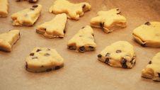 Free Chocolate Chip Cookie Dough Stock Photos - 97145873