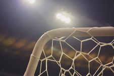 Free Soccer Net Stock Photography - 97146102
