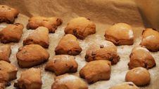 Free Baked Cookies Stock Photography - 97146122