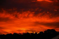 Free Sky, Red Sky At Morning, Afterglow, Sunset Royalty Free Stock Photos - 97153148