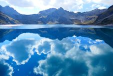 Free Nature, Reflection, Sky, Glacial Lake Stock Images - 97169124