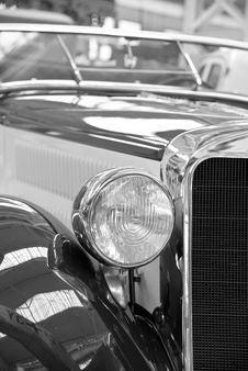 Free Car, Motor Vehicle, Black And White, Vintage Car Stock Photos - 97169153