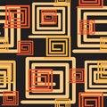 Free Seamless Black Pattern Royalty Free Stock Image - 9722306