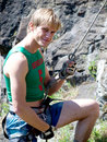 Free Climber Royalty Free Stock Image - 9723476